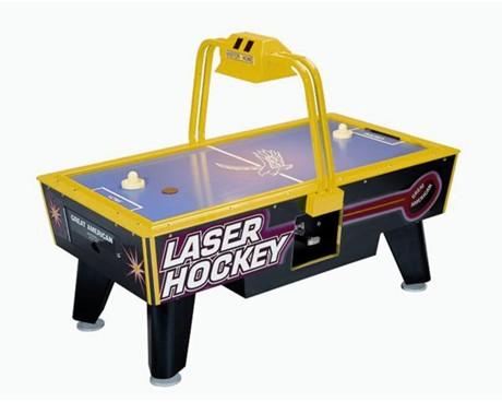 Table Air Hockey commercial avec monnayeur - Junior Laser Hockey