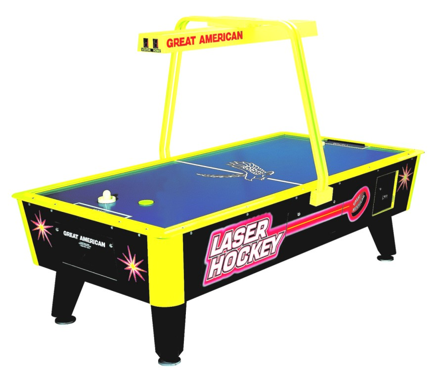 Table Air Hockey commercial avec monnayeur - Laser Hockey
