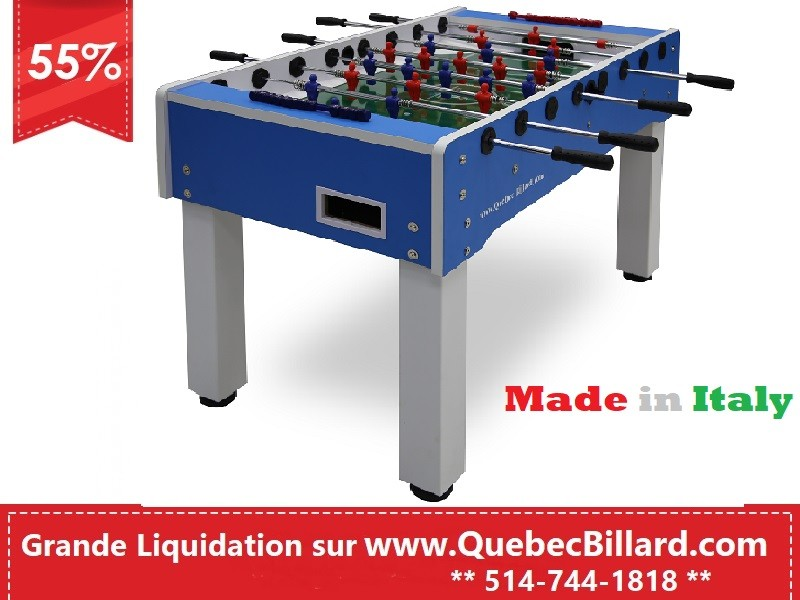 Table Soccer Samba bleu
