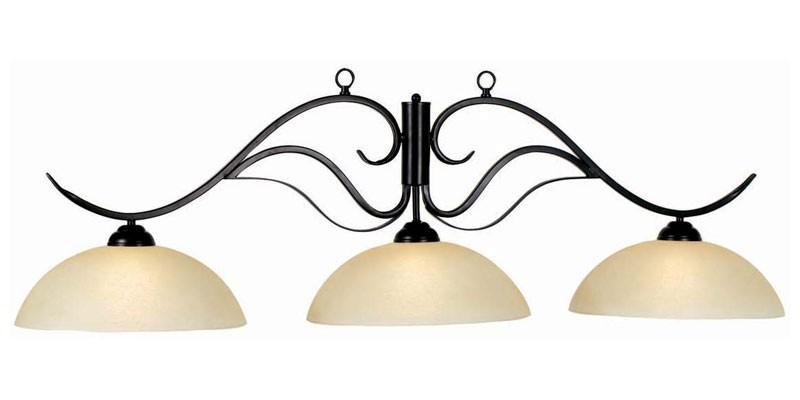 56 3lt lampe monaco vitr e noir mat lampes de billard billard et accessoires - Lampe pour table de billard ...