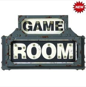 METAL SIGN-GAME ROOM