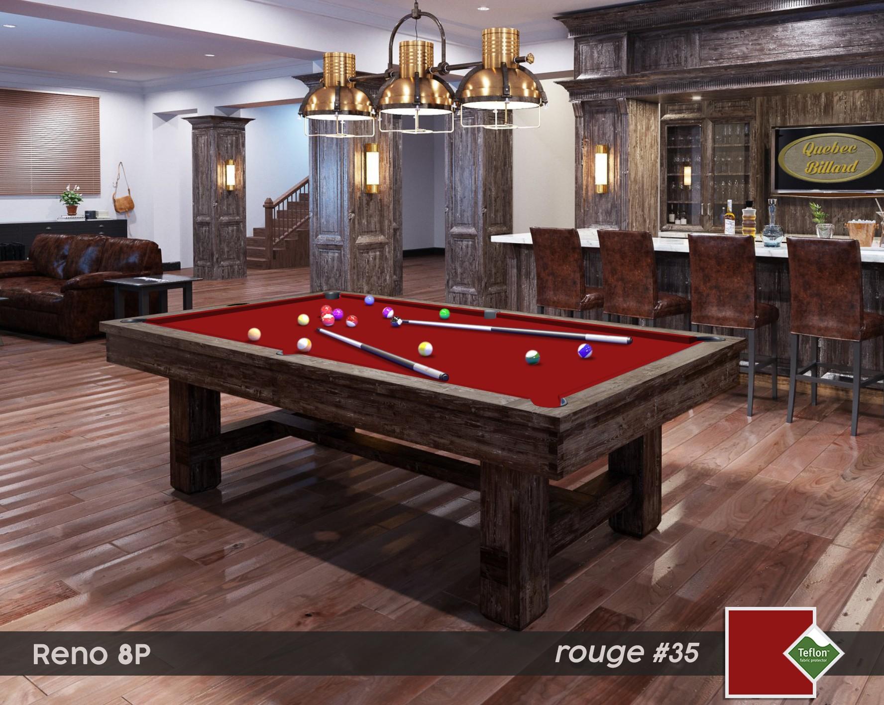 Table Billard Reno 8p