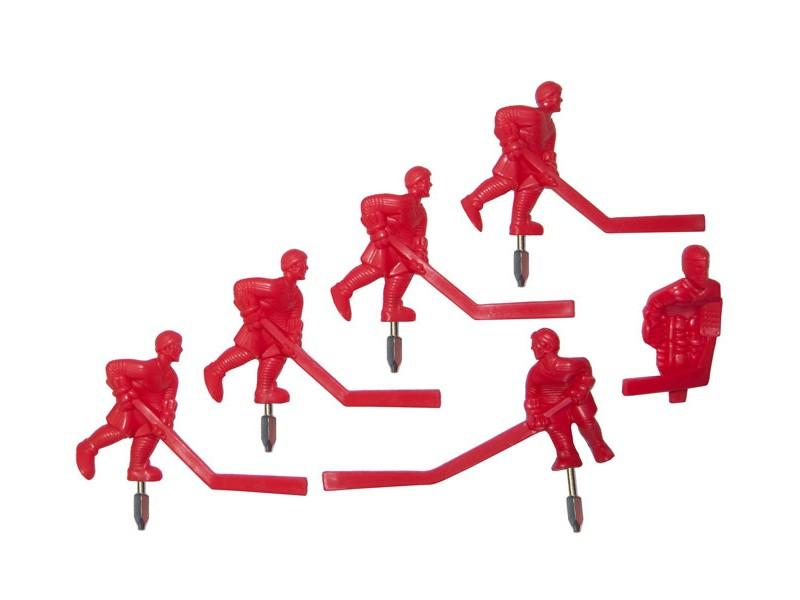 Équipe de hockey Carrom rouge