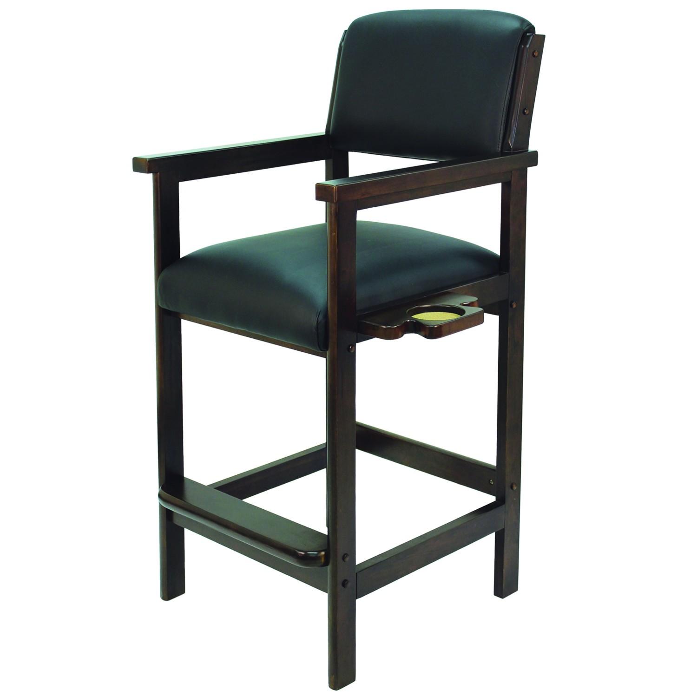 Tabouret-Chaise Spectateur Noir