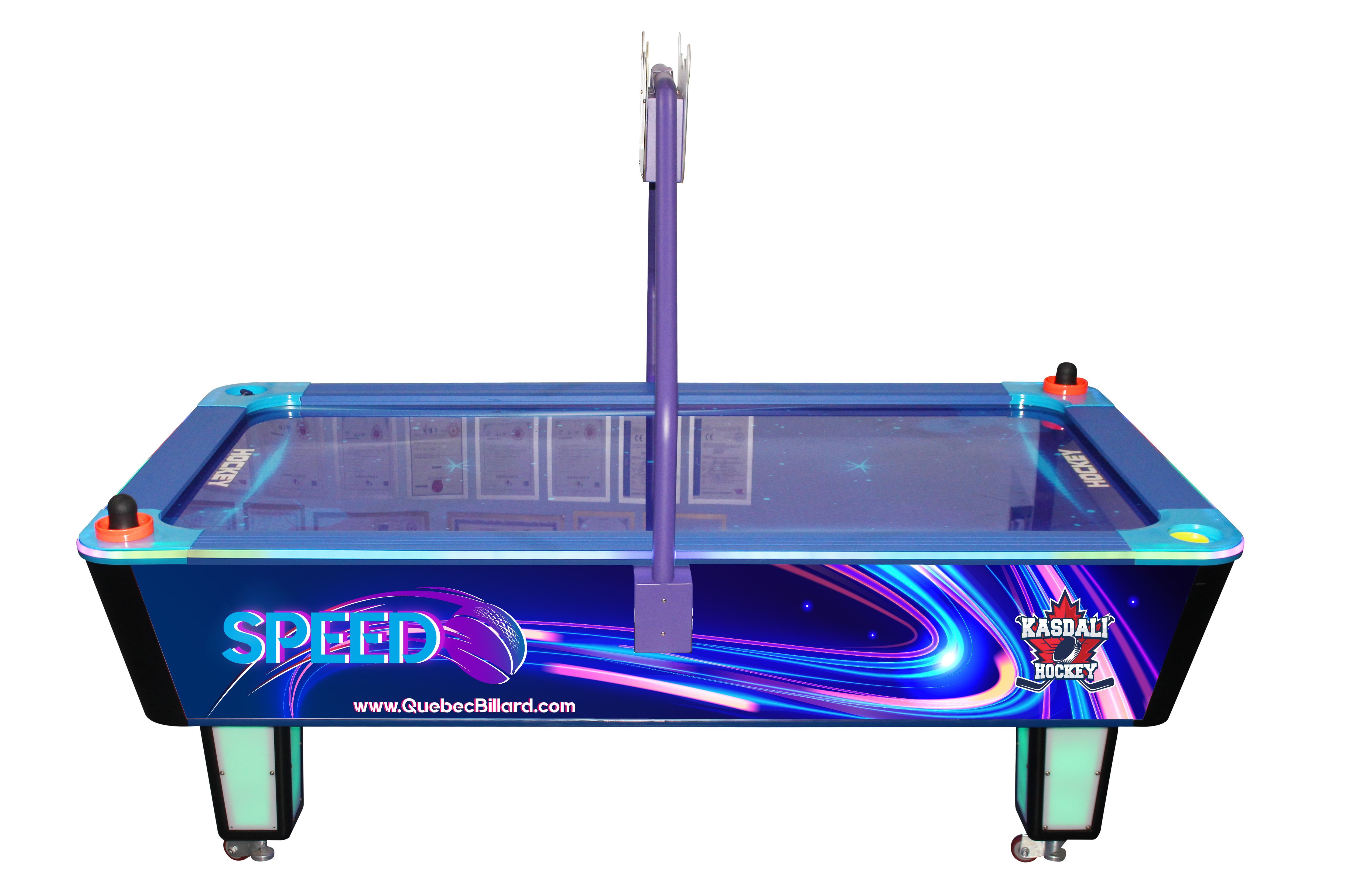 Table Air Hockey commercial  - model Speed