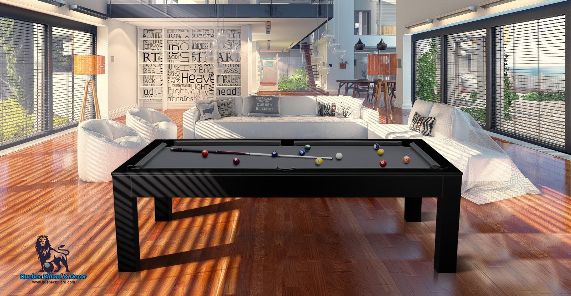 Table Billard Westmount 7p noire