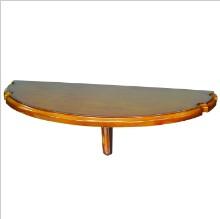 Table murale avec repose-Baguette CHESTNUT