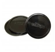 Mini rondelles de table de hockey noir