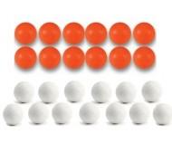 25 Balles de Babyfoot en plastique