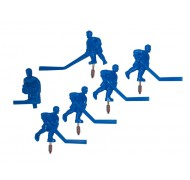 Équipe de hockey Carrom bleu