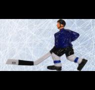 Joueur C Blue Rod Hockey Long