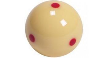 Boule de choc standard 6 points rouges