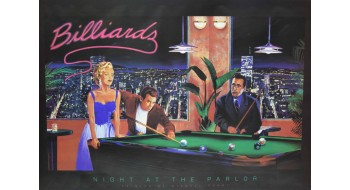 Billiard Poster parlor
