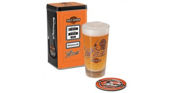 Harley-Davidson grand verre ensemble Fill'er