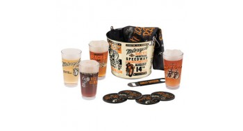 Harley-Davidson Race Day pinte verre seau Set