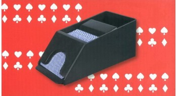 Distributeur de cartes dealer shoe