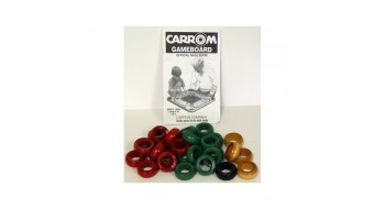 Ensemble d'anneaux en bois Carrom