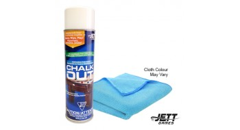 Jett Chalk-Out Combo Pack Spray / Tissu Micro Fibre