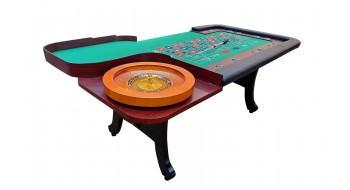 Table de Roulette  3.5' x 7' (Roulette 20'')
