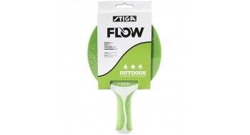 Raquette de Tennis de Table Extérieure STIGA Flow Vert/Blanc