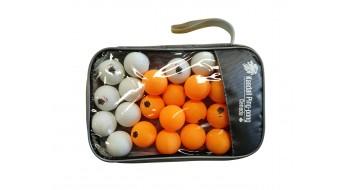 Sac de 25 balles 3 étoiles de ping pong