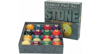 Aramith 2 1/4 Stone Set  de boulle