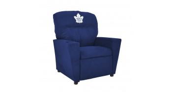 Fauteuil inclinable en microfibre pour enfants Toronto Maple Leafs