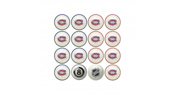 Set de boules billard Montreal Canadiens