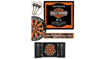 Harley-Davidson Oil Can Darts Kit
