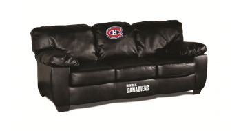 Sofa en cuir veritable Canadien de Montreal