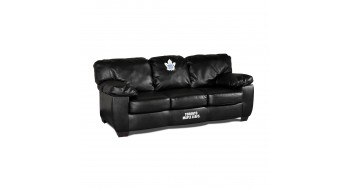 Sofa en cuir veritable Toronto Maple Leafs®