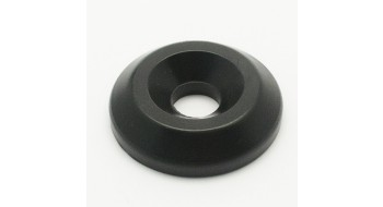 Ecrou plastique noire pour boulon fixage jambes