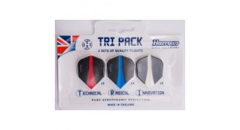 Tri-pack Plume de dard Harrows Retina