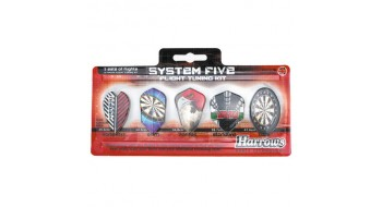 5 Set Pack Plume de dard Harrows System