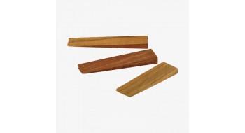 peuplier shim en bois