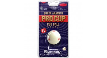 Aramith Super Pro Cup Cue Ball 6 dot 2 1/4""