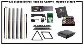 Kit d'accessoires Pro Quebec Billard