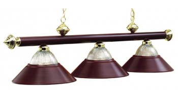 "3 LT-54"" BILLIARD LIGHT BURGUNDY"