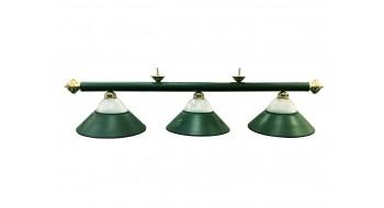"Lampe de billard 3LT 54"" - Vert"