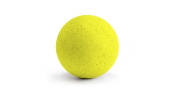 1 Balles neon jaune en liège