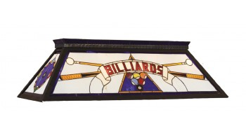 "44"" BILLIARD LIGHT WITH KD FRAME - BLUE"