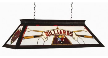 "44"" BILLIARD LIGHT WITH KD FRAME - RED"