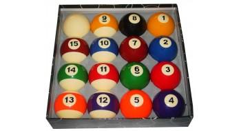 Set de boules billard standard