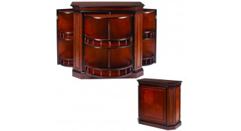 Bar Cabinet avec broche - Chestnut