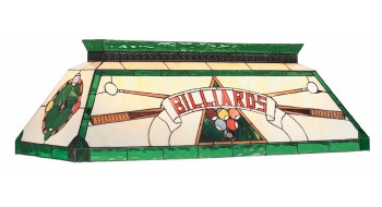 "44"" TIFFANY BILLIARD LIGHT-GREEN"