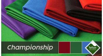 Tapis Billard Championship teflon complet  7p-8p-9p