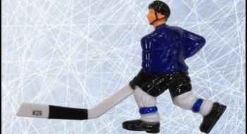 Joueur C Blue Rod Hockey Medium