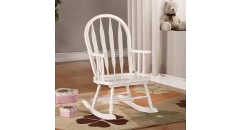 Chaise Berçante Juvenile Blanc