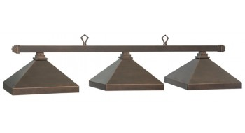 "KITSALANO 54"" BILLIARD LT-OIL RUBBED BRONZE"