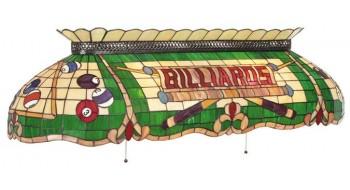 "50"" Lampe Tiffany Billiards Deluxe"
